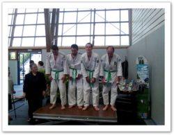 Tournoi série 1 - ceinture verte podium