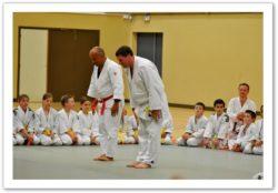 Gala du Judo Club 2011 - salut