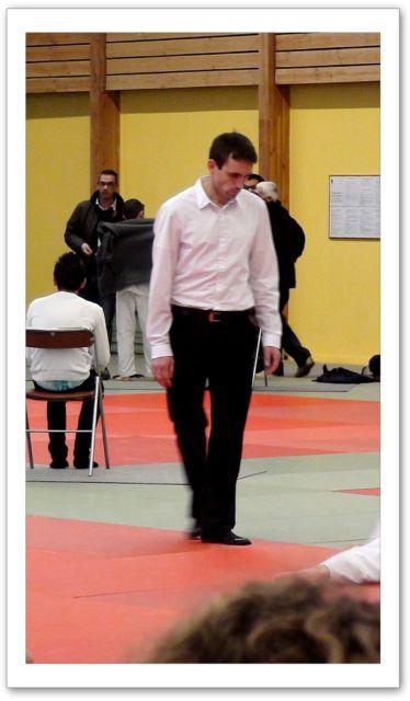Tournoi minimes 6/11/2011 - l'arbitre