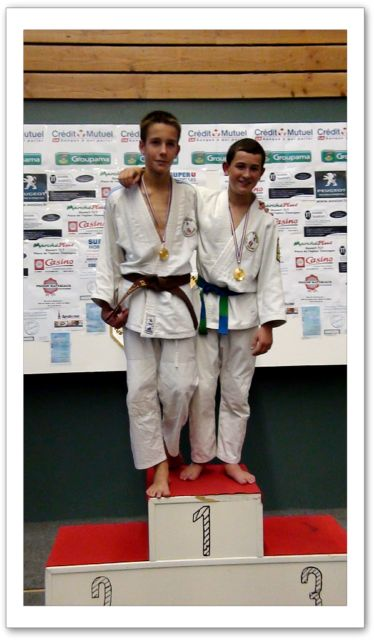 Tournoi minimes 6/11/2011 - podium