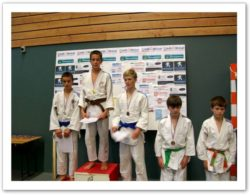 Tournoi minimes 6/11/2011 - podium 2