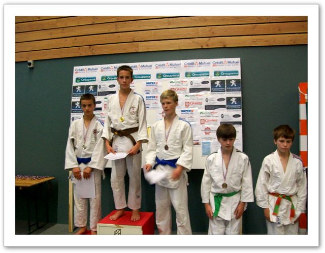 Tournoi minimes 6/11/2011 - podium 2