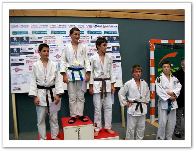 Tournoi minimes 6/11/2011 - podium 3