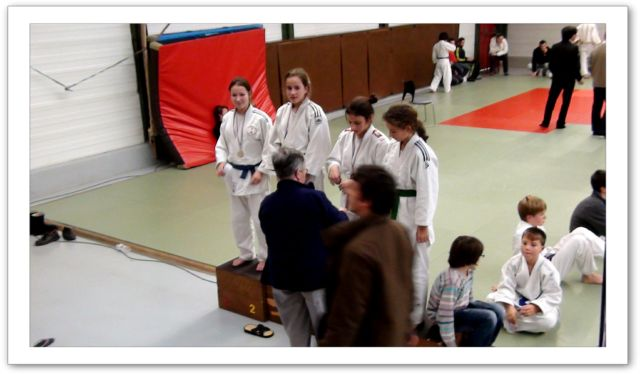 Compétition du 4 Décembre - podium 1