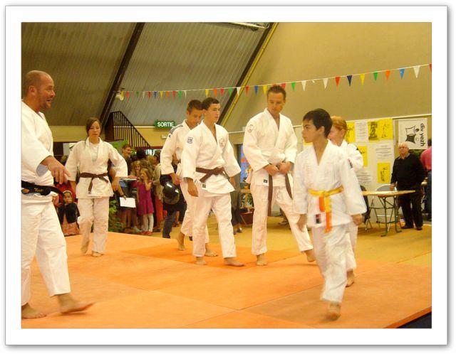 Défilé sur le tatami