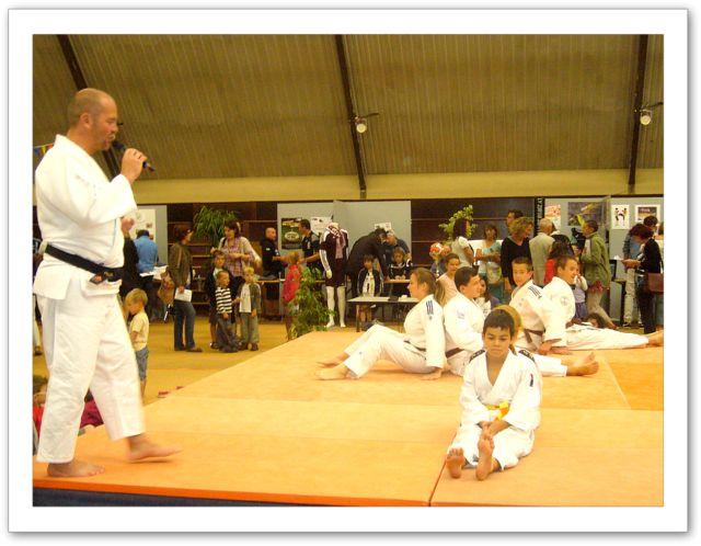 Démonstration sur le tatami