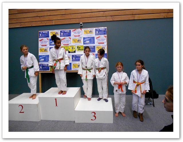 Podiums série 2 -Les jeunes filles sur le podium